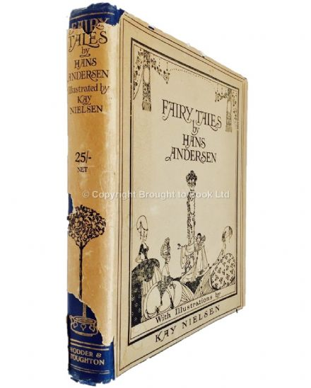 Fairy Tales by Hans Andersen Illustrated by Kay Nielsen Signed 1st Edition Hodder & Stoughton 1924
